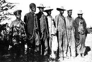 Esclaves enchaînés